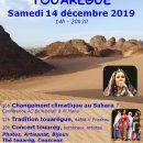Les Sahariens à la grande fête Touarègue – Paris, 14 décembre 2019