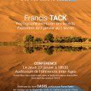 Oasis, des îles dans le désert de Francis Tack. Versailles,  jeudi 23 janvier